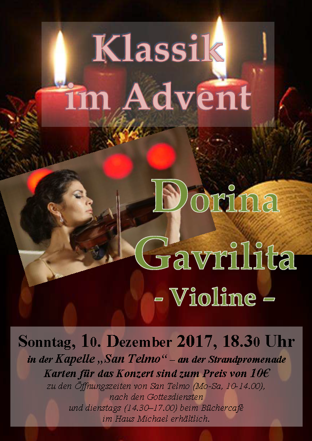 Dorina-Klassik im Advent - 2017